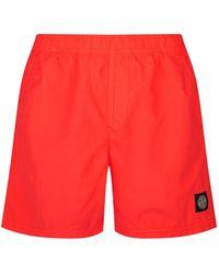 8cbd7dfc53363 Men's Stone Island Beachwear - Lyst