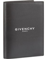 Givenchy - Logo Leather Passport Cover - Lyst