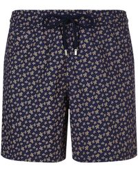 Vilebrequin - Mini Turtle Print Swim Shorts - Lyst