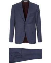 Pal Zileri - Diamond Weave Suit - Lyst
