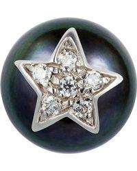 Carolina Bucci - Superstellar Pearl Stud With Pav Star - Lyst