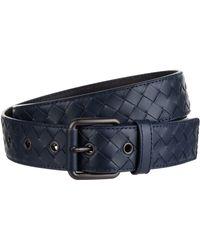 Bottega Veneta - Cintura Intrecciato Leather Belt - Lyst