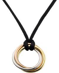 Cartier - Cord Trinity De Necklace - Lyst