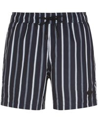 J.Lindeberg - Striped Swim Shorts - Lyst