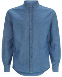 Sandro - Washed Cotton Shirt - Lyst