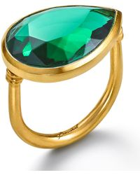 Baccarat - Crystal Drops Of Colour Ring - Lyst