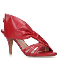 Valentino - Side Bow Slingback Sandals - Lyst