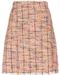 Etro - Tweed A-line Skirt - Lyst