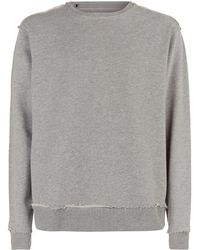 7 For All Mankind - Raw Edge Sweatshirt - Lyst