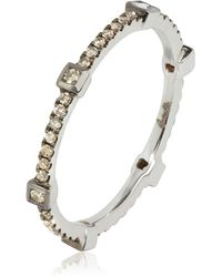 Annoushka - Pavilion Brown Diamond Ring - Lyst