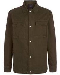 Rails - Military Overshirt - Lyst