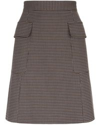 See By Chloé - Tailored Mini Skirt - Lyst