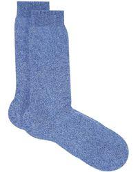 Harrods - Flat Knit Cashmere Sock - Lyst