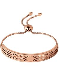 Links of London - Timeless 18kt Rose Gold Vermeil Toggle Bracelet - Lyst