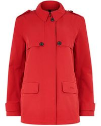 Barbour | Glenrothes Spread Collared Trench Coat | Lyst