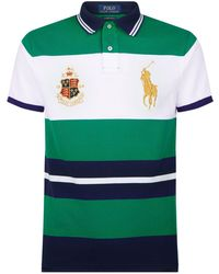 Pink Pony - Custom Slim Fit Mesh Polo - Lyst