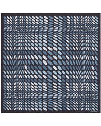 Tom Ford - Abstract Print Silk Pocket Square - Lyst