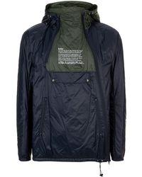 Kolor - Colour Block Windbreaker Jacket - Lyst