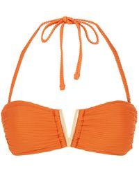 Heidi Klein - Casablanca V Bandeau Bikini Top - Lyst