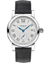 Montblanc - Star Roman Small Second Automatic Watch - Lyst