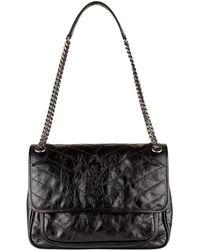 Saint Laurent - Medium Leather Niki Shoulder Bag - Lyst