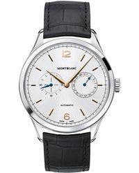 Montblanc - Heritage Chronomtrie Twincounter Date Watch - Lyst
