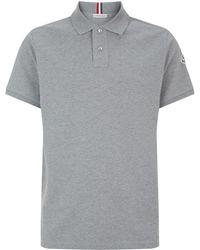 Moncler - Short Sleeved Polo Shirt - Lyst