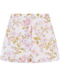 Thierry Colson - Floral Pyjama Shorts - Lyst