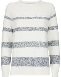 Barbour - Faeroe Knit Jumper - Lyst