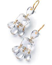 Baccarat - Mutlicolour 3 Tier Marie-hlne De Taillac Earrings - Lyst