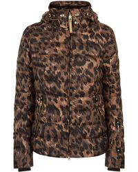 Bogner - Leopard Print Down Filled Coat - Lyst