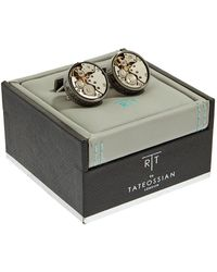 Tateossian - Skeleton Clockwork Cufflinks - Lyst