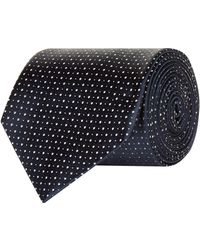 Emporio Armani - Polka Dot Silk Tie - Lyst