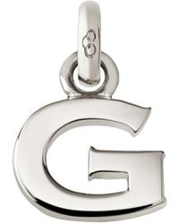 Links of London - Sterling Silver Letter G Charm - Lyst