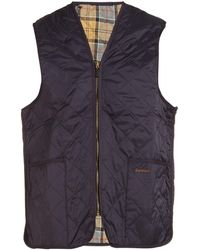 Barbour Quilted Waistcoat - Blue