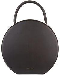 Mansur Gavriel - Leather Circle Top Handle Bag - Lyst
