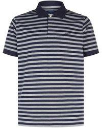 GANT - Feeder Stripe Printed Polo Top - Lyst