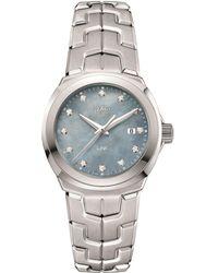 Tag Heuer - Link Ladies Grey Mother Of Pearl Watch - Lyst