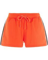 PUMA - Side Split Shorts - Lyst