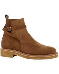 AMI - Suede Jodhpur Ankle Boots - Lyst