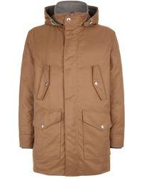 Brunello Cucinelli - Water Repellent Hooded Jacket - Lyst