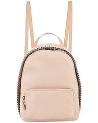 Stella McCartney - Mini Falabella Backpack, Pink, One Size - Lyst