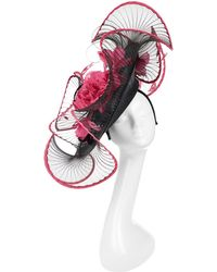 Peter Bettley - Large Sinamay With Pleated Swirls - Lyst