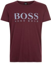 BOSS Orange - Logo T-shirt - Lyst