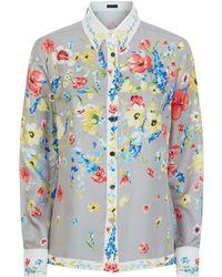 ESCADA - Nasisa Floral Shirt - Lyst