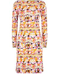 Emilio Pucci - Arenal Patterned Tunic Dress - Lyst