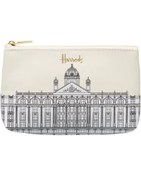 Harrods - Illustrated Building Purse - Lyst