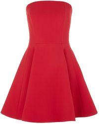 La Mania - Strapless Dress - Lyst