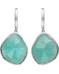Monica Vinader - Siren Large Nugget Amazonite Earrings - Lyst