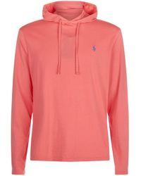 Polo Ralph Lauren - Hooded T-shirt - Lyst
